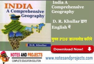 India A Comprehensive Geography By Khullar