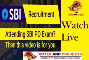 Discussion On SBI PO Previous Year Paper
