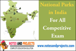 List of National Parks in India Free Pdf